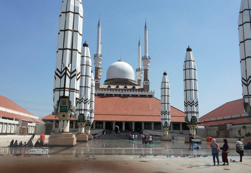 Serunya Kota Semarang Dari Menara Masjid Agung Jawa Tengah